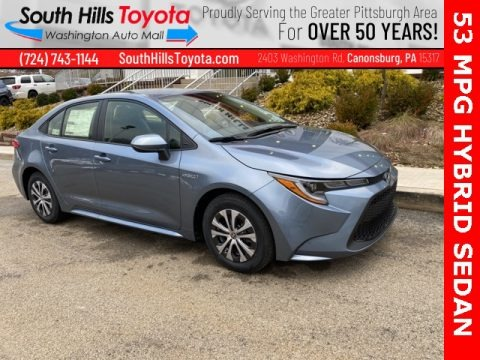 Celestite Gray Metallic 2021 Toyota Corolla Hybrid LE
