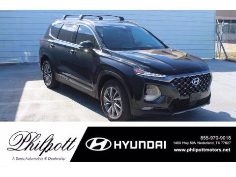 Twilight Black 2020 Hyundai Santa Fe Limited