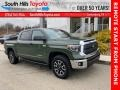 Toyota Tundra SR5 CrewMax 4x4 Army Green photo #1