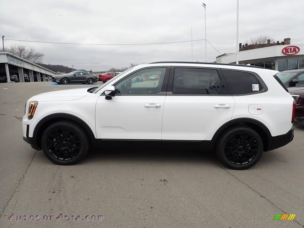 2021 Telluride SX AWD - Snow White Pearl / Black photo #6