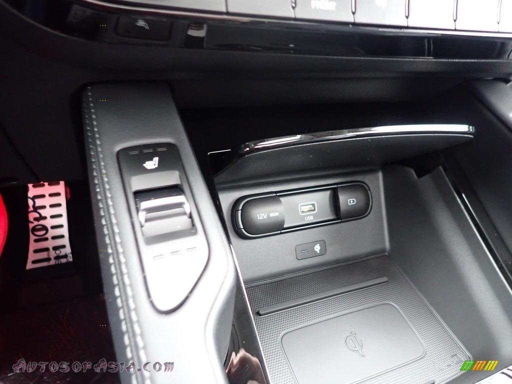 2021 Telluride SX AWD - Snow White Pearl / Black photo #20