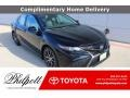 Toyota Camry SE Midnight Black Metallic photo #1