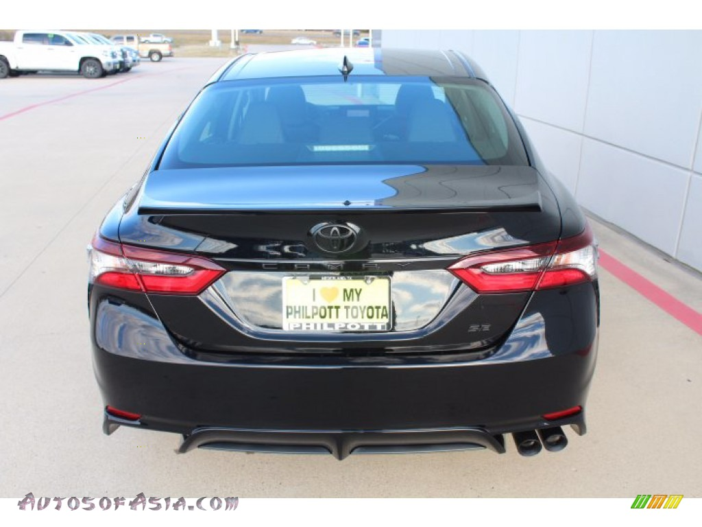 2021 Camry SE - Midnight Black Metallic / Black photo #7