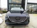 Mazda CX-9 Touring AWD Deep Crystal Blue Mica photo #2