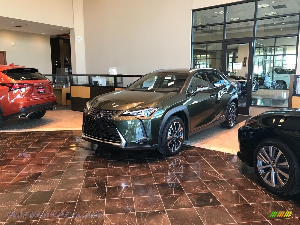 2021 UX 250h AWD - Nori Green Pearl / Black photo #1