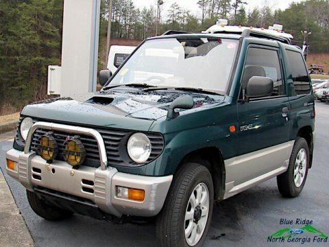 Dark Green 1995 Mitsubishi Pajero Mini VR-II 4x4