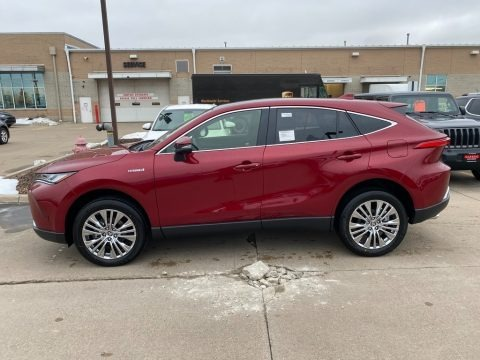 Ruby Flare Pearl 2021 Toyota Venza Limited AWD