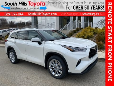 Blizzard White Pearl 2021 Toyota Highlander Limited AWD