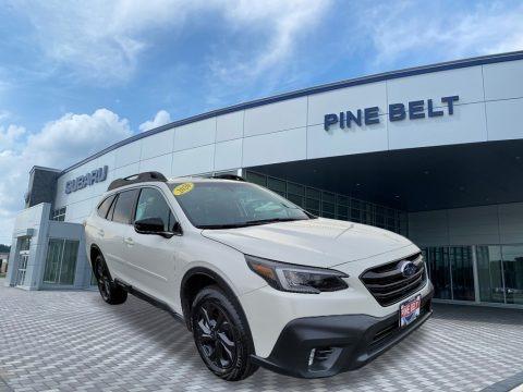 Crystal White Pearl 2020 Subaru Outback Onyx Edition XT