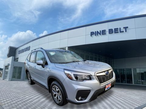 Ice Silver Metallic 2021 Subaru Forester 2.5i Premium