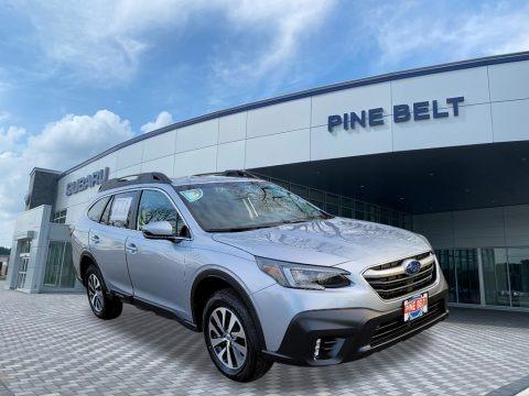 Ice Silver Metallic 2021 Subaru Outback 2.5i Premium