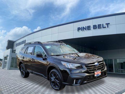 Crystal Black Silica 2021 Subaru Outback Onyx Edition XT