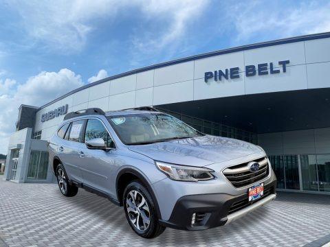 Ice Silver Metallic 2021 Subaru Outback Limited XT