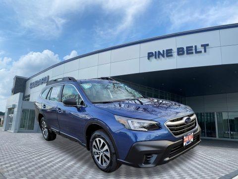 Abyss Blue Pearl 2021 Subaru Outback 2.5i