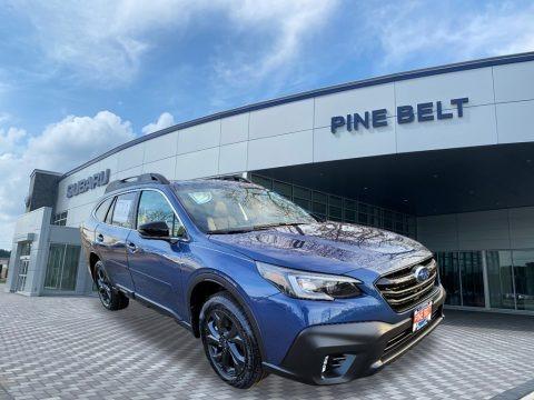 Abyss Blue Pearl 2021 Subaru Outback Onyx Edition XT