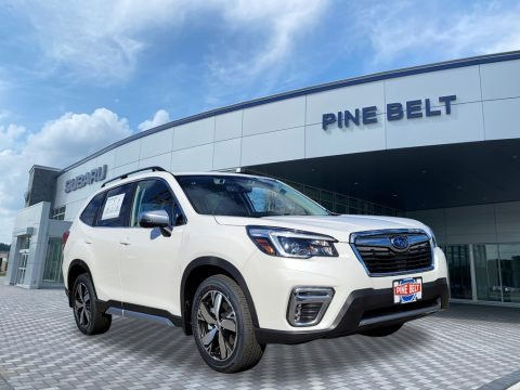 Crystal White Pearl 2021 Subaru Forester 2.5i Touring