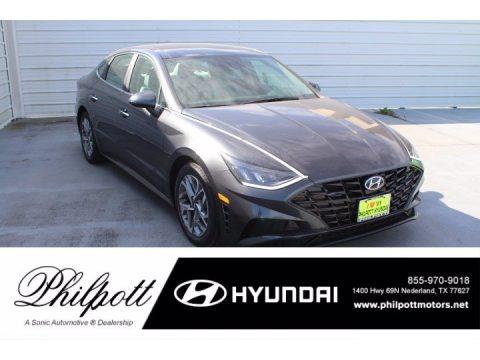 Portofino Gray 2021 Hyundai Sonata SEL