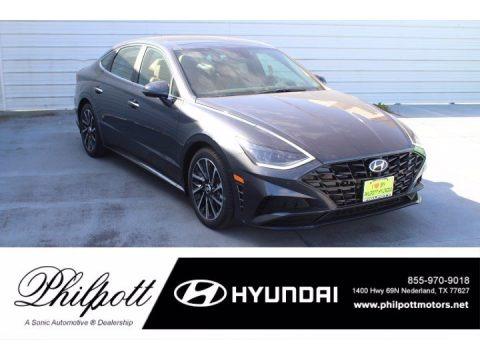 Portofino Gray 2021 Hyundai Sonata Limited