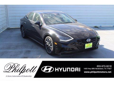Phantom Black 2021 Hyundai Sonata Limited
