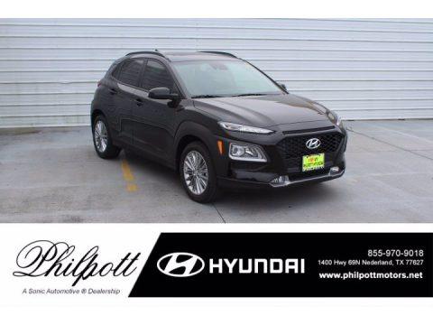 Ultra Black 2021 Hyundai Kona SEL