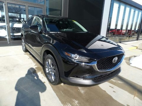 Jet Black Mica 2021 Mazda CX-30 Preferred AWD