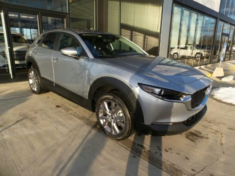 Sonic Silver Metallic 2021 Mazda CX-30 Preferred AWD