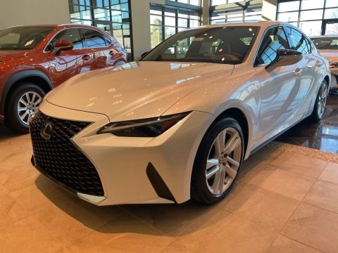 Eminent White Pearl 2021 Lexus IS 300 AWD