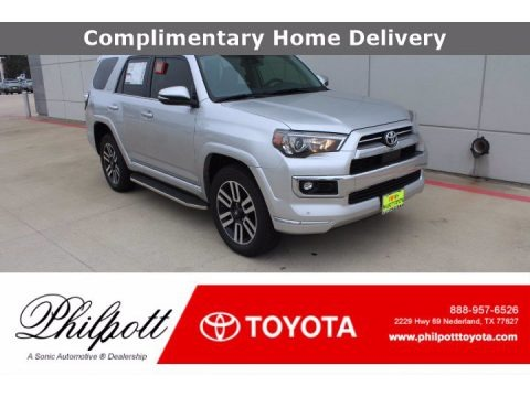 Classic Silver Metallic 2021 Toyota 4Runner Limited 4x4