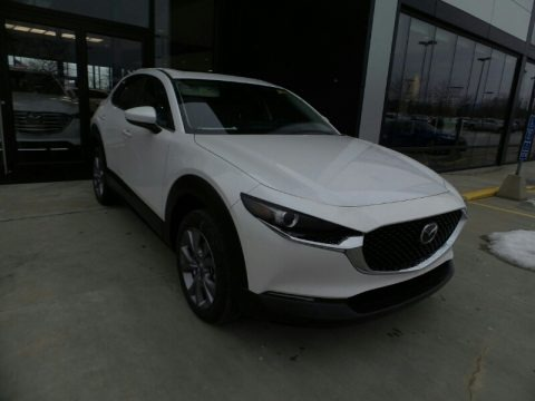 Snowflake White Pearl Mica 2021 Mazda CX-30 Preferred AWD