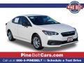 Subaru Impreza Sedan Crystal White Pearl photo #1