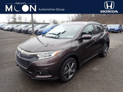 Midnight Amethyst Metallic 2021 Honda HR-V EX AWD