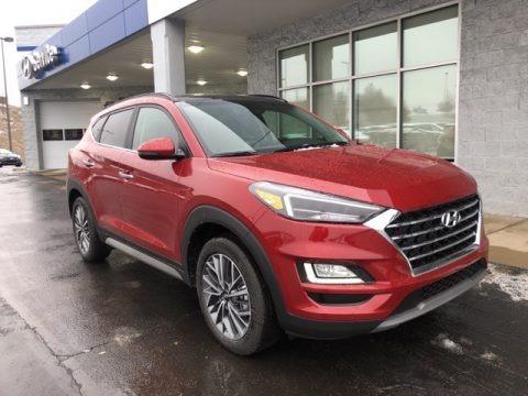 Red Crimson 2021 Hyundai Tucson Ulitimate AWD