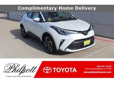 Blizzard Pearl 2020 Toyota C-HR Limited