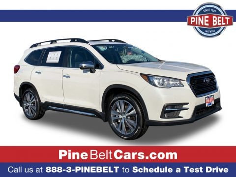 Crystal White Pearl 2021 Subaru Ascent Touring