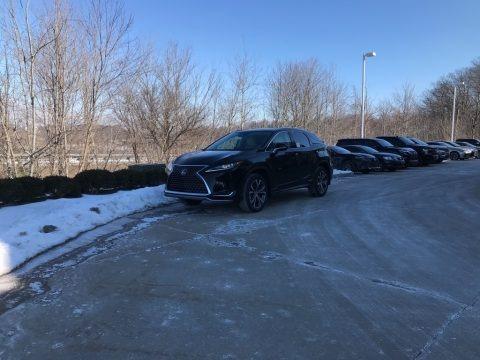 Obsidian 2021 Lexus RX 450h AWD