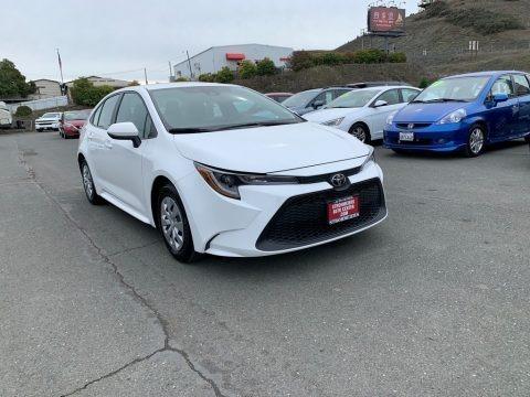 Super White 2020 Toyota Corolla L