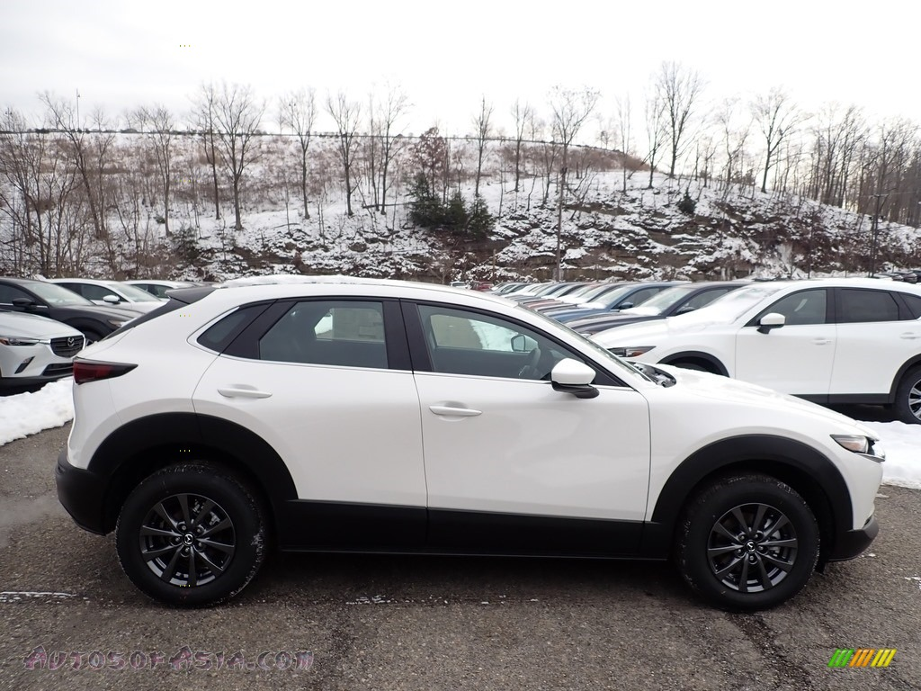 2021 CX-30 AWD - Snowflake White Pearl Mica / Black photo #1