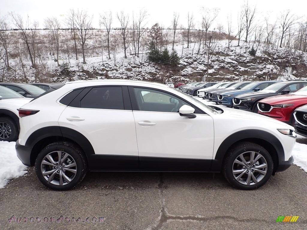 2021 CX-30 Preferred AWD - Snowflake White Pearl Mica / Black photo #1