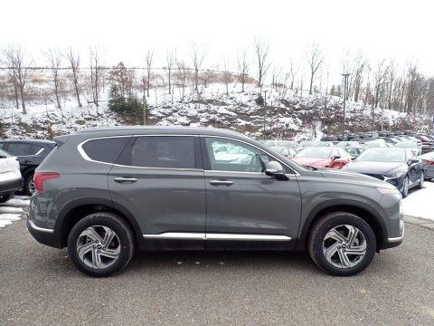 Hampton Gray 2021 Hyundai Santa Fe SEL AWD