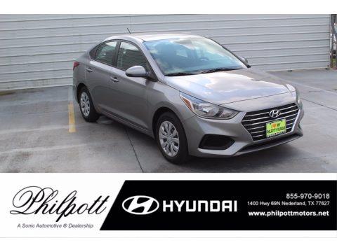 Forge Gray 2021 Hyundai Accent SE