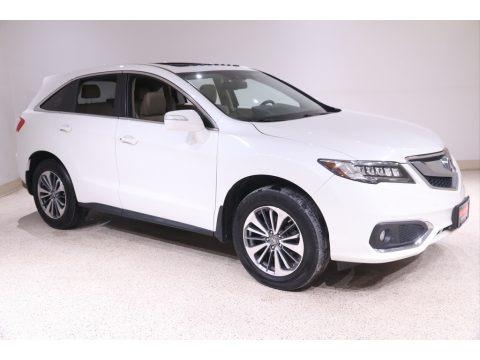 White Diamond Pearl 2017 Acura RDX Advance AWD
