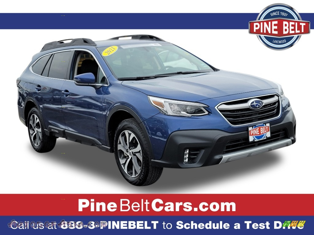 2021 Outback Limited XT - Abyss Blue Pearl / Slate Black photo #1