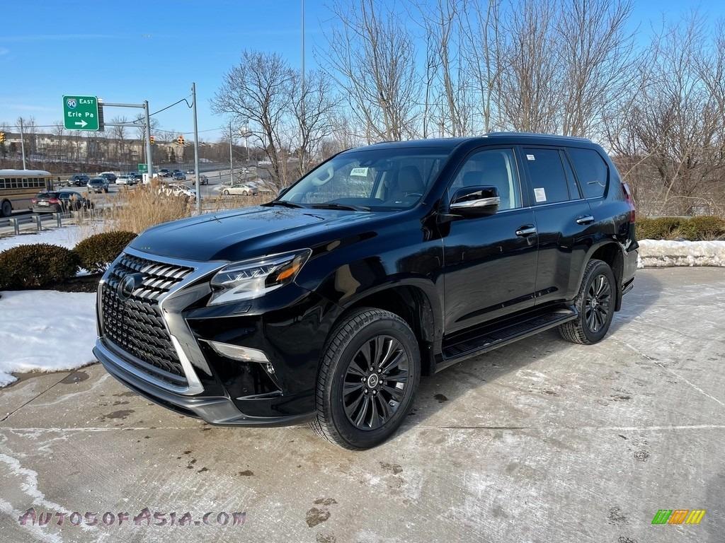 2021 GX 460 Premium - Black Onyx / Sepia photo #1