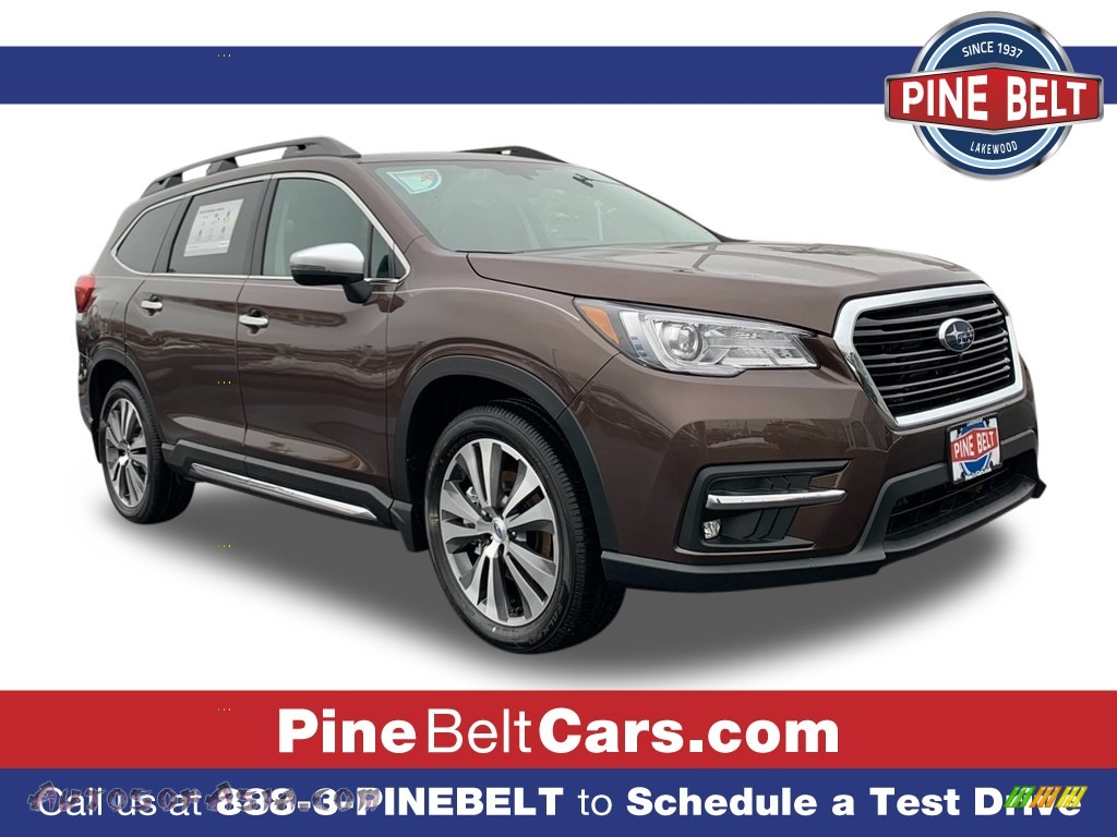 Cinnamon Brown Pearl / Slate Black Subaru Ascent Touring
