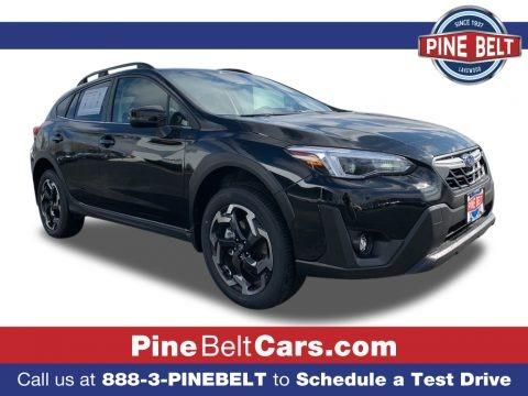 Crystal Black Silica 2021 Subaru Crosstrek Limited