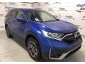 Honda CR-V EX AWD Aegean Blue Metallic photo #2