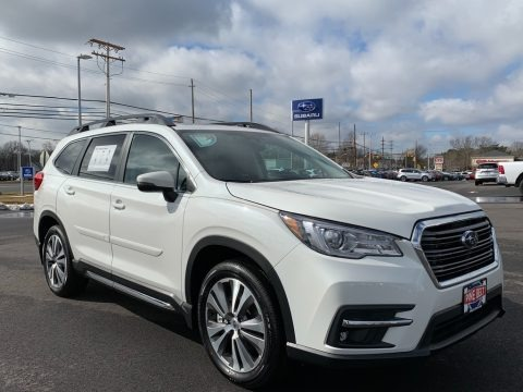 Crystal White Pearl 2021 Subaru Ascent Limited