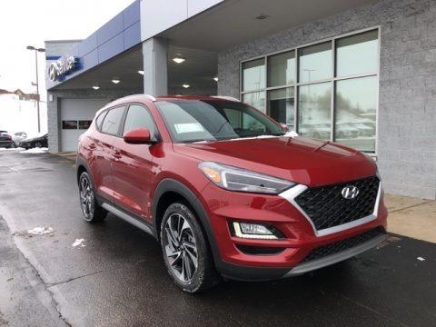 Red Crimson 2021 Hyundai Tucson SEL AWD