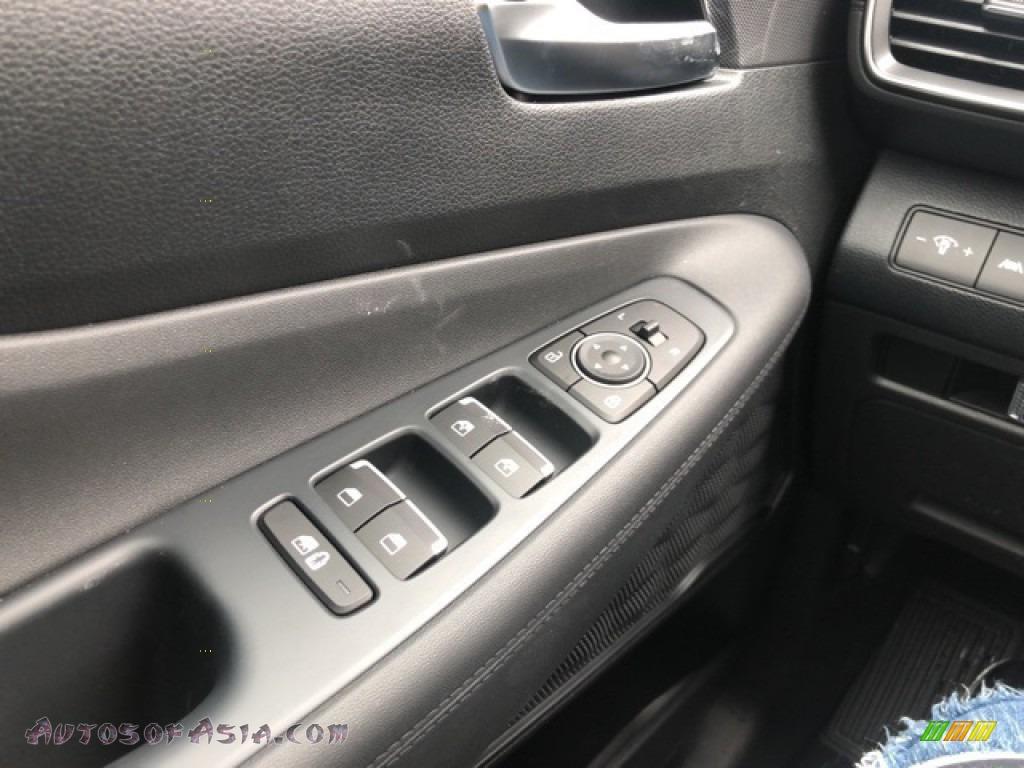 2021 Santa Fe SEL AWD - Twilight Black / Black photo #14