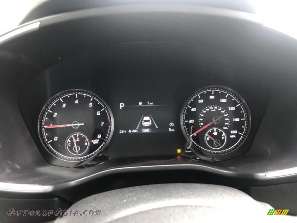 2021 Santa Fe SEL AWD - Quartz White / Black photo #5